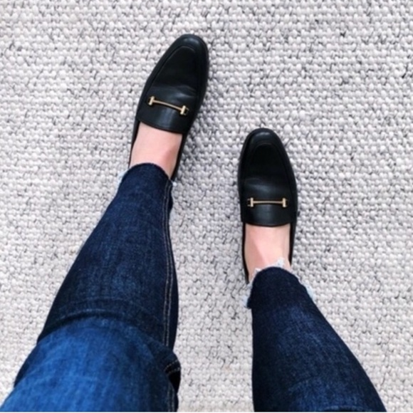 6bd66c611a9 Sam Edelman Lior Loafer Black Leather Flats. M 5c313ea245c8b3c7f4dcaff6